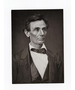 POSTCARD-ABRAHAM LINCOLN-FIRST DAY OF ISSUE-Feb... - $3.00