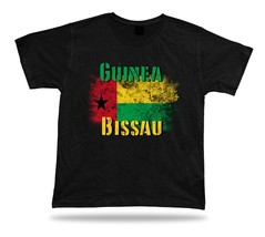 Guinea-Bissau flag Tshirt T-shirt Tee top city map Cape Verde pan africa... - $7.57