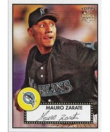 Mauro Zarate Topps '52 2007 #175 Rookie Card Florida Marlins - $0.20