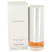 Contradiction By Calvin Klein For Women 3.4 oz EDP Spray - $22.84