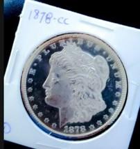 1878 CC DMPL MORGAN SILVER DOLLAR NICE CAMEO  KEY DATE *  - $538.02