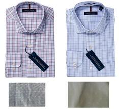 Tommy Hilfiger Men's Regular Fit Wrinkle Resistant Stretch Dress Shirt - $17.99