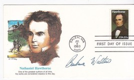 BARBARA WALTERS AUTOGRAPH ON US FIRST DAY COVER  - $10.38