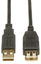 Lot 10 Tripp Lite 16ft USB 2.0 Hi-Speed Extension Cables, Shielded Male-... - $49.49