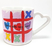 You've Won My Heart Coffee Mug Cup 12oz Vintage Russ Valentines Day Love... - $13.99