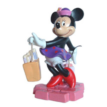 Disney Minnie Mouse Shop Till You Drop Porcelai... - $22.50