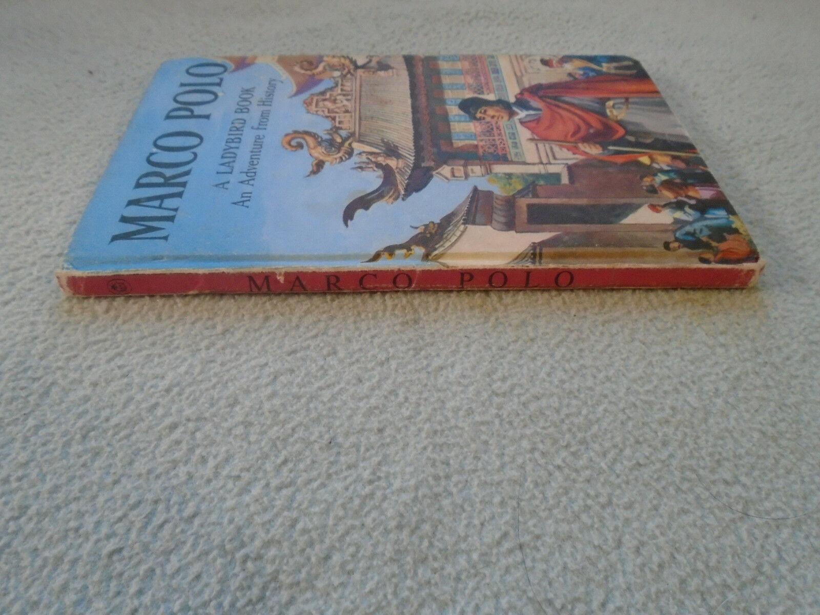 Vintage 1962 Lady Bird Book Marco Polo Series 561