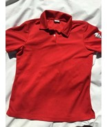 Golf Polo Shirt KFC KENTUCKY FRIED CHICKEN Employee Staff Shirt M Red - $14.01
