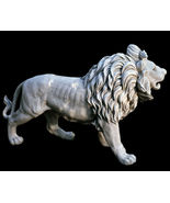 Regal Lion Estate Gate Sculpture Statue RIGHT for Home or Garden - $286.11