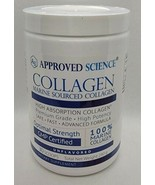 Approved Science Collagen ~ 30 scoops~ 240g~ Unflavored ~New & Sealed - $46.32