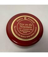 Circle E Candles Fire on the Mountain Hot Cinnamon Cider 4 oz Tin Fredericksburg - $19.79
