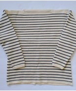 Reproduction Striped 1800s British Sailor Woolen Guernsey/Gansey-size Large - $160.00