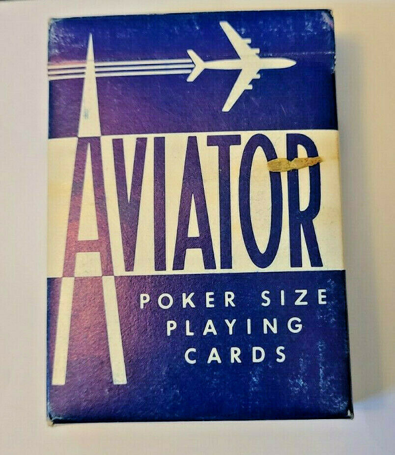Blue Aviator Poker 914 Deck of Playing Cards   (#015)