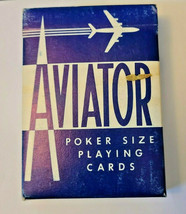 Blue Aviator Poker 914 Deck of Playing Cards   (#015) image 1