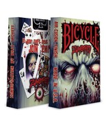 1 Deck Bicycle Zombified Standard Poker Playing Cards Sealed New In Box - $2.69