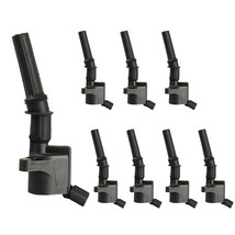 8 x Ignition Coils for Ford Lincoln Mercury 4.6L 5.4L V8 Curved Boot DG508 - $47.47