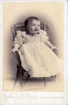 Grace Elnora Burgess Cabinet Photo of Child - Kennebunk, Maine, ca. 1893 - $17.50