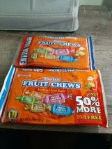 2 Bags Tootsie Rolls Fruit Chews Assorted Flavored Candy Chewy Rolls 5.83 Oz Bag - $19.68