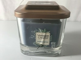 Yankee Candle Coastal Cypress 3.4 oz Elevation Collection Small Candle Lid - $9.89