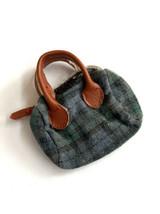 """12"""" Silkstone Barbie Green blackwatch Plaid Bag Fit Fashion Royalty purse - $9.89"""