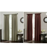 "Emery Rod Pocket Insulated 100% Blackout Window Curtain Panel 50"" x 84""  - $29.99"