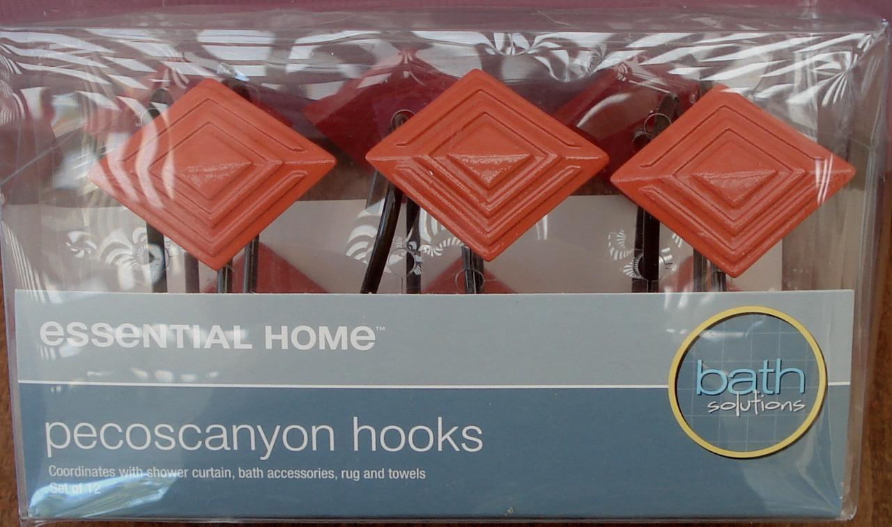 Essential Home Pecoscanyon Shower Hooks - Set of 12 - BRAND NEW IN BOX - $19.79