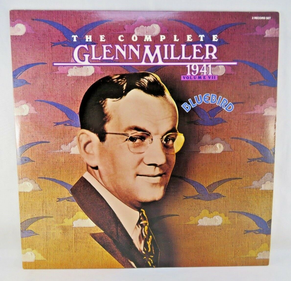 "Primary image for The Complete Glenn Miller 1941 Vol. VII (7) 12"" Double Vinyl LP by Bluebird RCA"