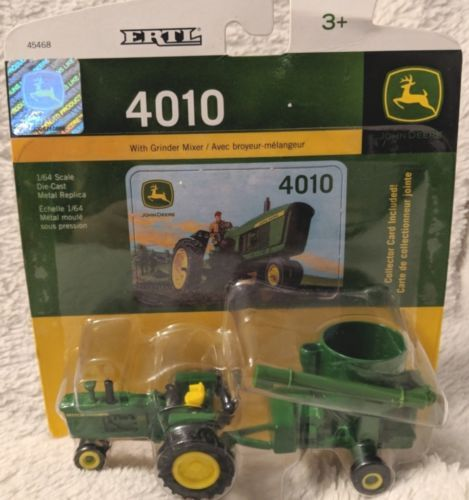 John Deere TBE45468 ERTL Grinder Mixer 4010 64 Scale Collector DieCast Toy
