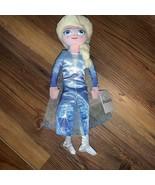 Disney Frozen II Queen Elsa Plush Stuffed Small 10 inch Doll Just Play New - $14.00