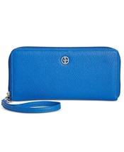 NWT Giani Bernini Softy Slim Zip Around Wallet, Midtone Blue - $24.53