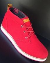 Men's Vlado Brandon Red | White Fashion Sneakers - $98.00