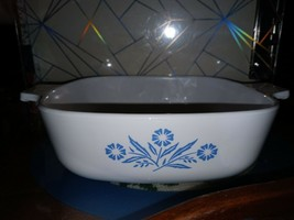 Blue Corn Flower Corning Ware 1.5 Qt P-1 1/2-B Casserole Dish *No Lid* - $9.89