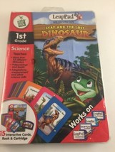 LeapFrog LeapPad 1st grade Science Leap and the Lost Dinosaur Complete  - $6.80