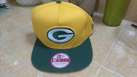 New Era 9Fifty NFL Green Bay Yellow Green hat cap Snapback Size S/M - £14.46 GBP