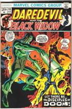 Daredevil Comic Book #98, Marvel Comics 1973 VERY FINE- - $11.64
