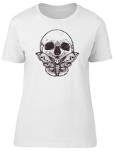 Skull With Skull Moth Men's Tee -Image by Shutterstock - $12.86+