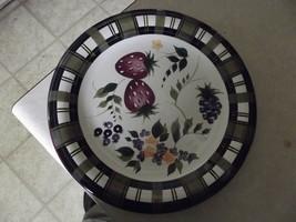 Oneida Strawberry Plaid dinner plate 3 available - $7.38