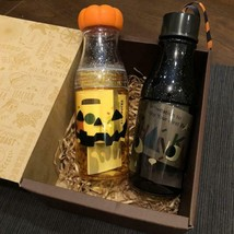 Starbucks Coffee 2018 Halloween Sunny Bottle with Set Box - $99.05