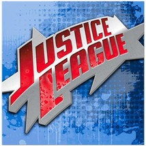 Justice Rescue League Birthday Party Lunch Dinner Napkins 16 Per Package NEW - $4.90