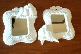 Vintage 1989 HOMCO Home Interior Doves Love Birds Wall Hanging Mirror Wh... - $17.82