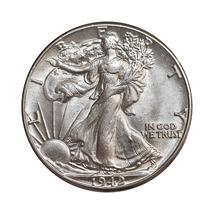 1942 P Walking Liberty Half Dollar - Gem BU / MS / UNC - $47.00