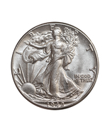 1942 P Walking Liberty Half Dollar - Gem BU / MS / UNC - €42,17 EUR