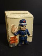Antique Razor Blades Diecast Box Austria 1930 Safety First Policeman No ... - $245.00