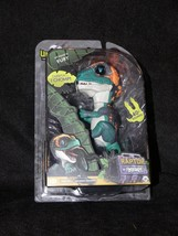 Fingerlings Untamed Raptor Dinosaur - FURY WowWee Green NEW Authentic - $19.99