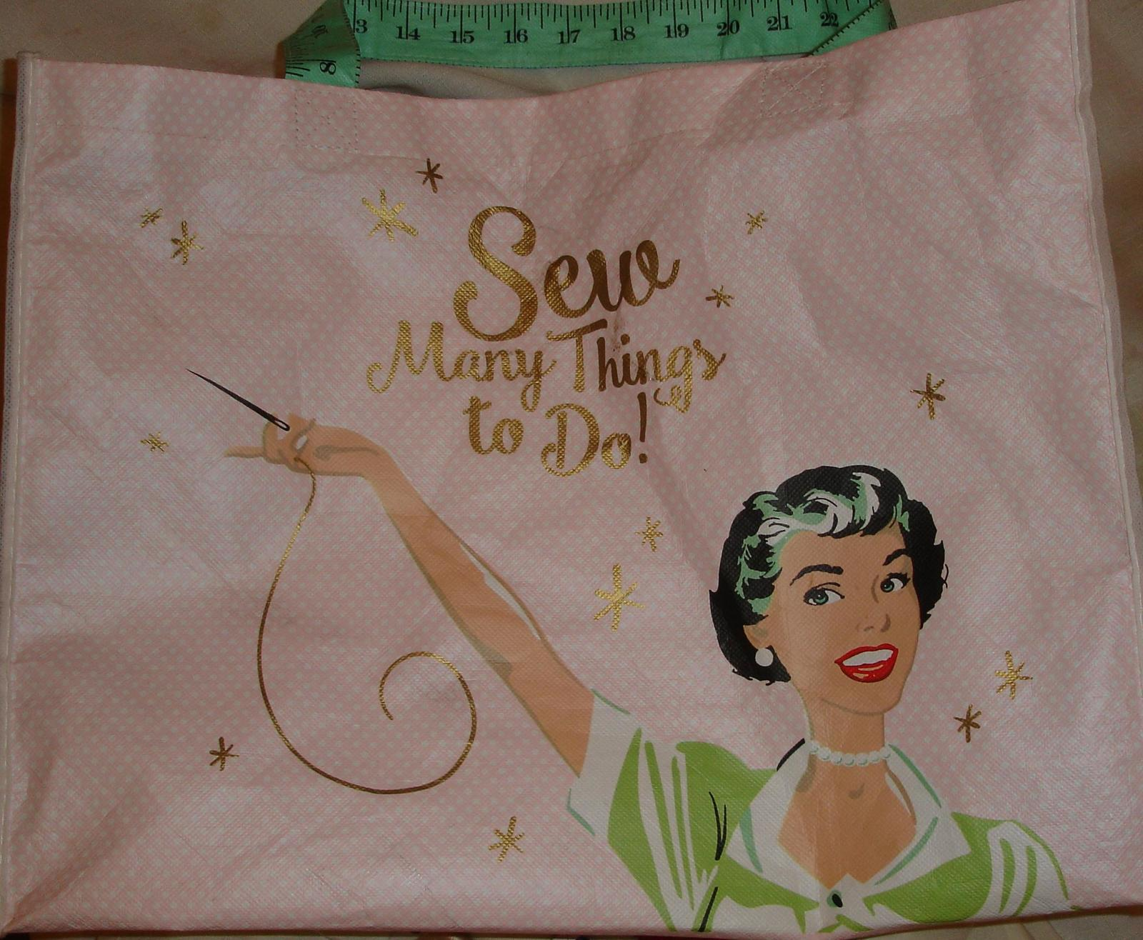Shoping Bag from Joann Fabric and Craft Stores with Thread
