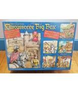 Carcassone Big Box Base Game & 5 Expansion Large Package 2010 Edition Ne... - $192.93