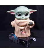 Star Wars The Child Baby Yoda Candy Dispenser Easter NEW with Sound Mand... - $6.76