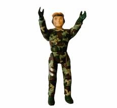 Dino Riders action figure dino rider Tyco toy dinosaur Commando camouflage camo - $23.12