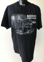 Harley Davidson T-shirt Size L Resist Conformity Follow No-One Print - $20.51