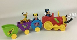 Disney Mickey Mouse Clubhouse Wobble Bobble Choo Choo Train Minnie 2013 ... - $29.35